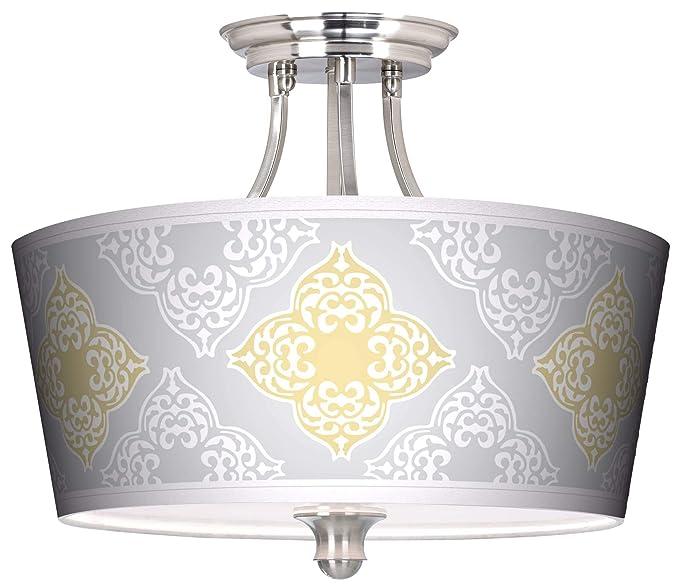 Amazon.com: Aster - Lámpara de techo con tambor cónico ...