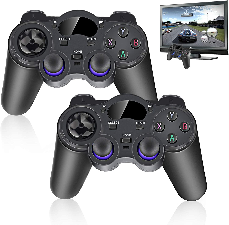 2x 2 4 G Kabellos Game Controller Usb Gamepad Kabellos Joystick Für Android Tv Box Pc Baumarkt