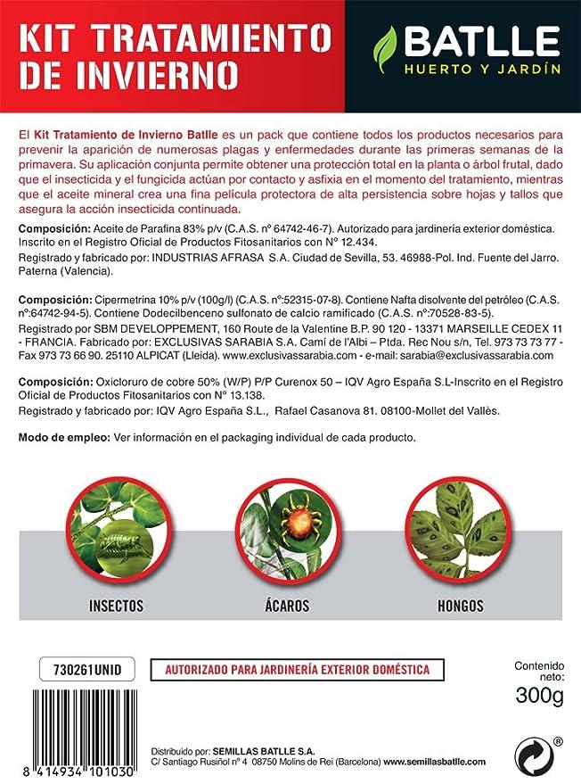 Fitosanitarios - Kit Tratamiento Invierno - Batlle: Amazon.es: Jardín