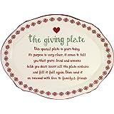 """12"""" Giving Dinner Plate"""