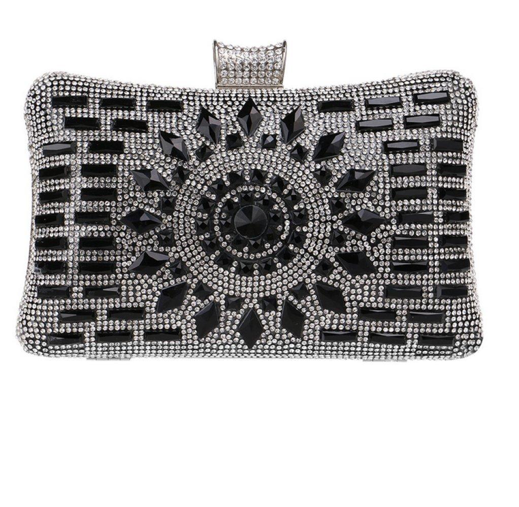 Bolso de la cruz del hombro del embrague de las mujeres del bolso de la cena del diamante de Europa y de América: Amazon.es: Equipaje