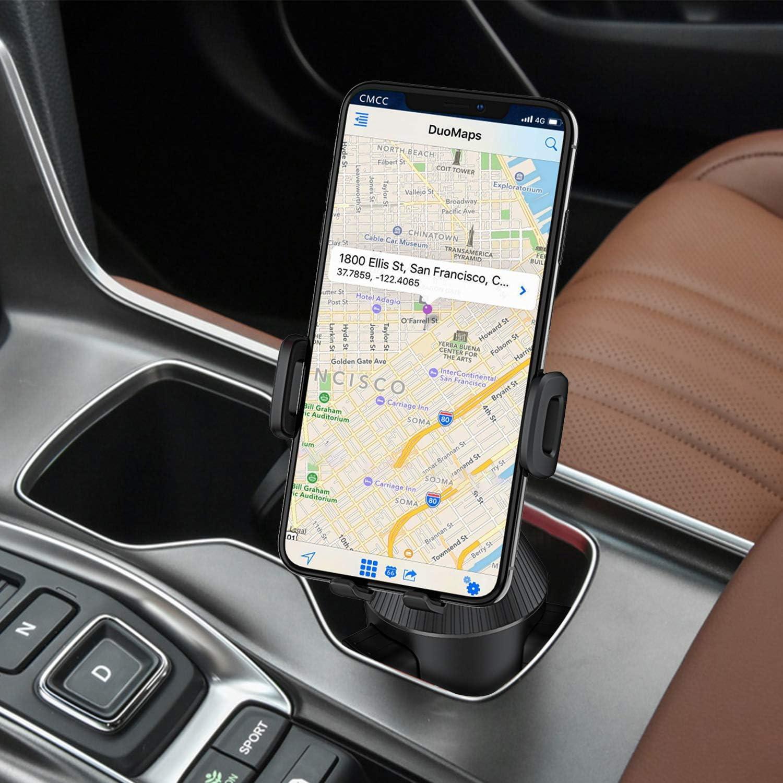 WizGear Car Cup Holder Phone Mount Adjustable Automobile Cup Holder Smart Phone Cradle Car Mount Cup Phone Holder for Car
