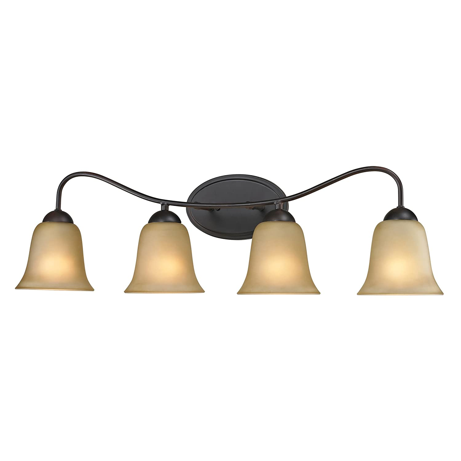 Cornerstone Lighting 1204BB 10 Conway 4 Light Bath Bar, Oil Rubbed Bronze