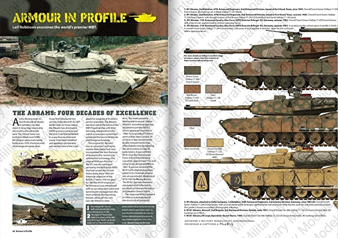 4b8475942a1e Amazon.com  WPTARP001 Guideline Publications - Armor in Profile Volume 1   Armoured Fighting Vehicles The United States Army 1945-2018  Toys   Games