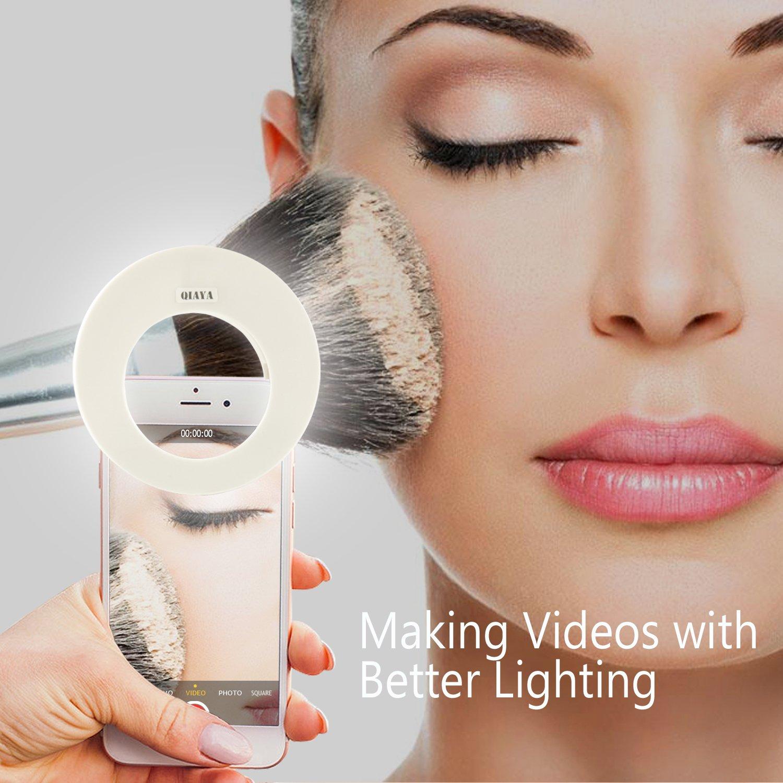 Qiaya Selfie Light Ring Lights Led Circle Light Cell Phone