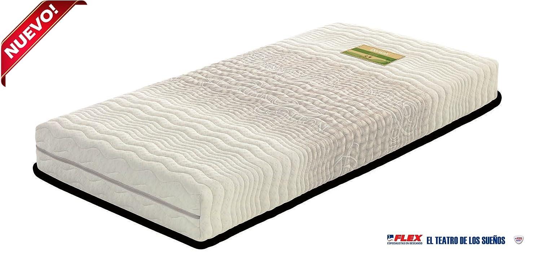Dorwin 2454140031 - colchón de Latex enfundado Natur 105x200 cm: Amazon.es: Hogar