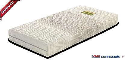 Dorwin 2454140031 - colchón de Latex enfundado Natur talalay Art gem 90x182 cm