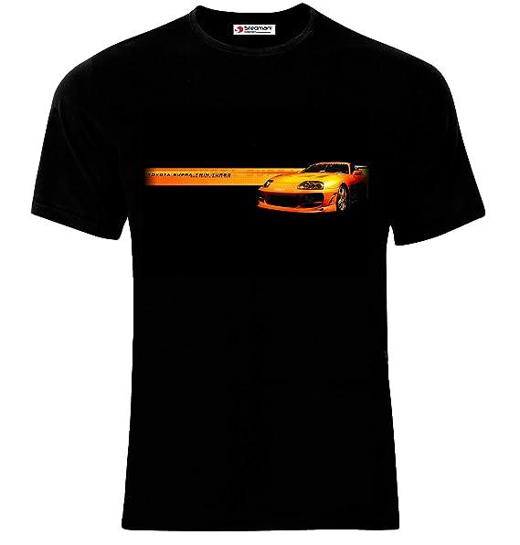 Stedman Toyota Supra Twin Turbo Camiseta de Hombre Printed T-Shirt: Amazon.es: Ropa y accesorios
