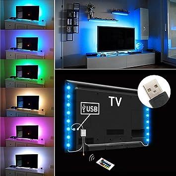exgreem Bias Lighting TV retroiluminación para HDTV LED tiras ...