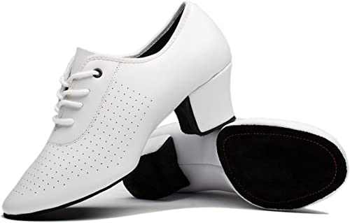 7.5, White Very Fine Shoes Dance Sneakers