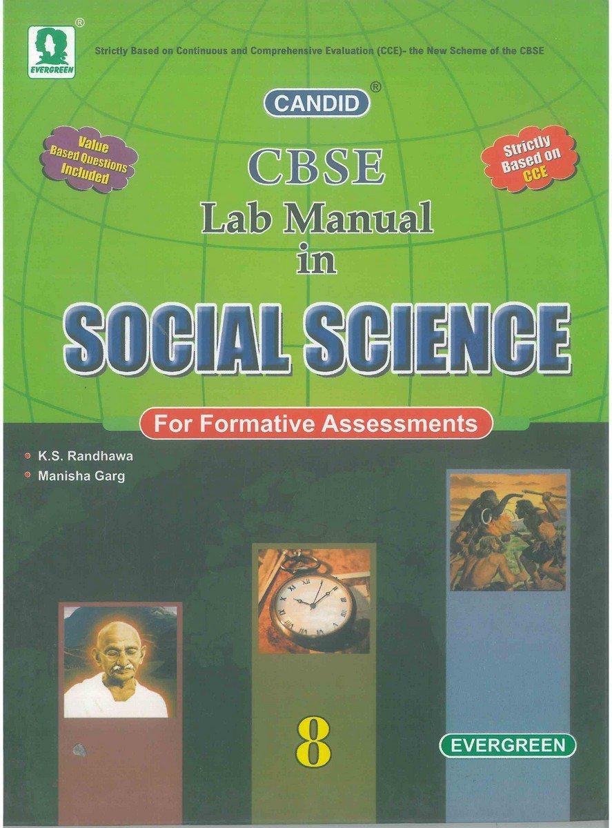 Candid Lab Manual in Social Science (Class 8): Amazon.in: K S Randhawa,  Manisha Garg: Books