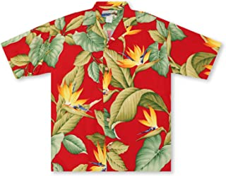 product image for Paradise Found Waimea Casuals Airbrush Birds of Paradise - Red