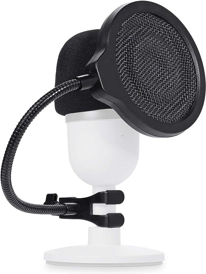 Razer Seiren Mini Popschutz Mit Mikrofon Schaumstoff Dreischichtiger Pop Filter Und Windshield Für Seiren Mini Mic Von Youshares Musikinstrumente