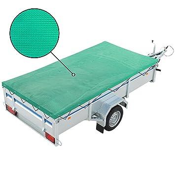 Anhängernetz feinmaschig mit Gummiseil 160 x 250 cm