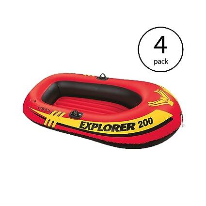 Amazon.com: Intex Explorer 200 - Juego de 2 botes hinchables ...