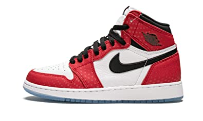 3deb84770fcbb Amazon.com | Jordan Air 1 Retro High Og (Gs) (Gym Red/Black-White ...
