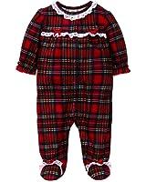 Amazon.com: Girls Christmas Pajamas - Infant or Toddler Pant Set ...