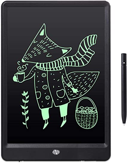LCD Writing Tablet 3 Pcs 10 Inch LCD Drawing Board Childrens Graffiti Board Writing Board Draft Drawing Board Drawing Tablet for Kids Color : Picture Color, Size : 10 inches