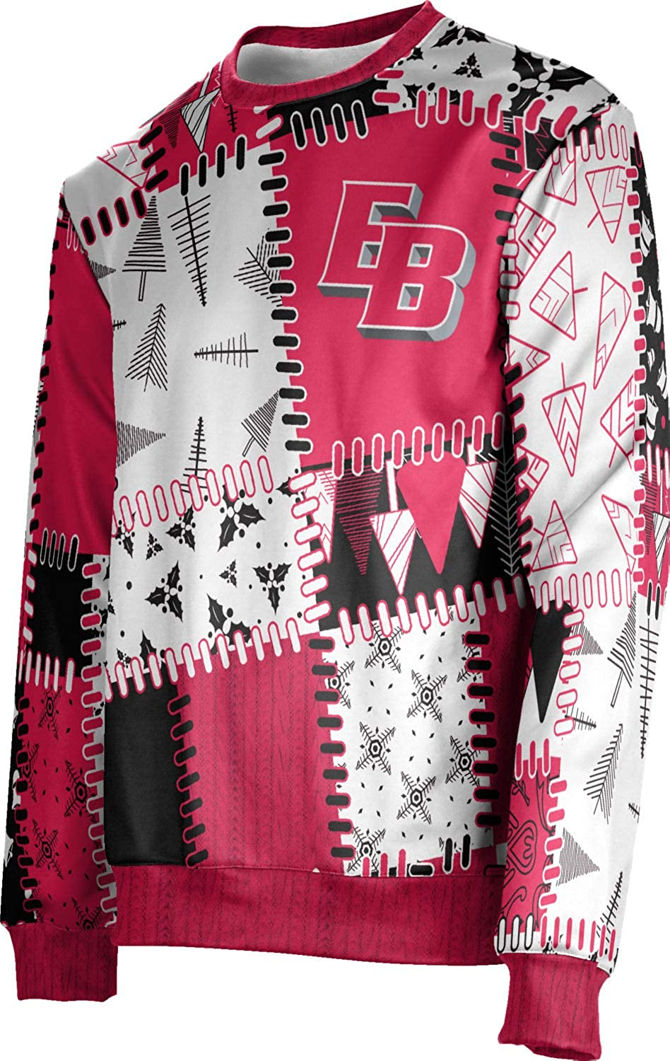California State University East Bay Ugly Holiday Men S Sweater Quilt At Amazon Men S Clothing Store