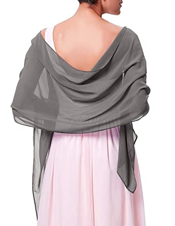 bf7aa9b1a5f720 Kate Kasin Soft Chiffon Scarve Shawls Wraps and Pashmina for Evening ...