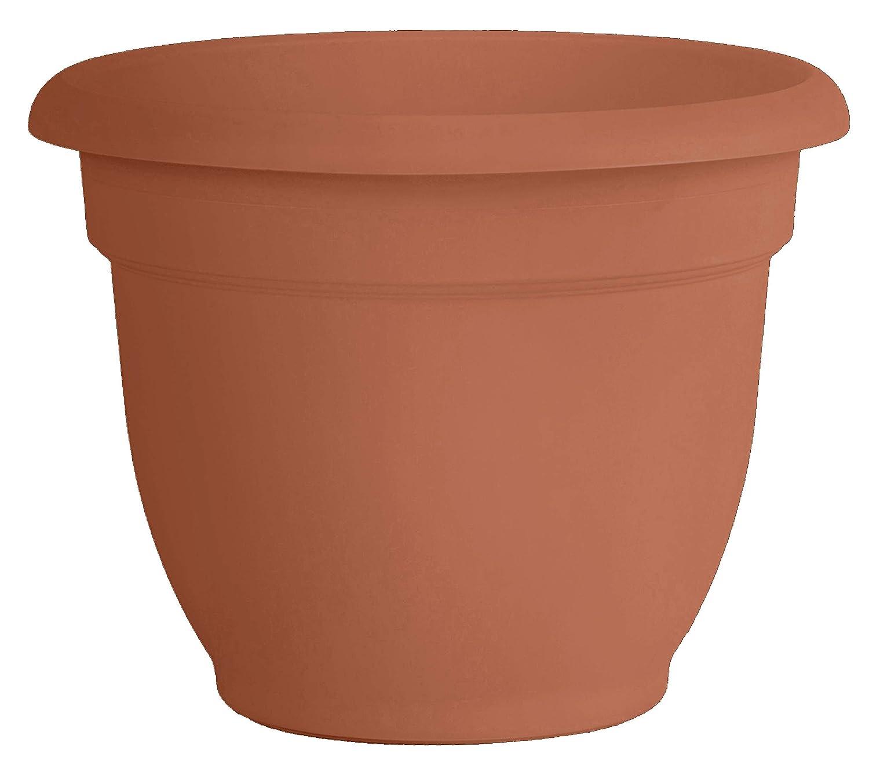 Bloem 20-56120 Fiskars 20 Inch Ariana Planter with Self-Watering Grid, Color Clay, Terra Cotta