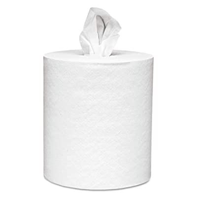 Scott 01051 Center-Pull Paper Roll Towels, Absorbency Pockets, 1Ply, 8x15, 500 per Roll (Case of 4 Rolls): Industrial & Scientific