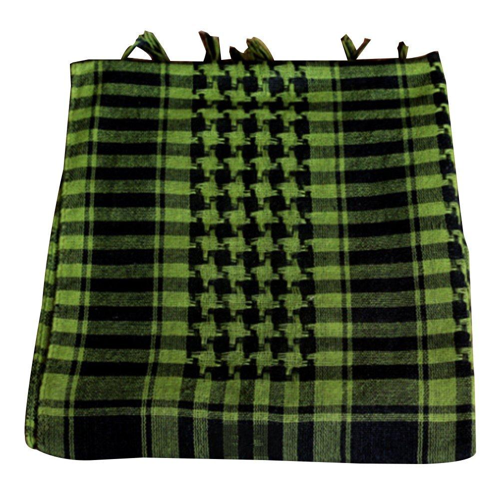 Zantec Camo Schal, Unisex Grid Muster Warme CS Dschungel Camo Schal Schal Headcloth Babuschka für Winter Outdoor aktivitäten