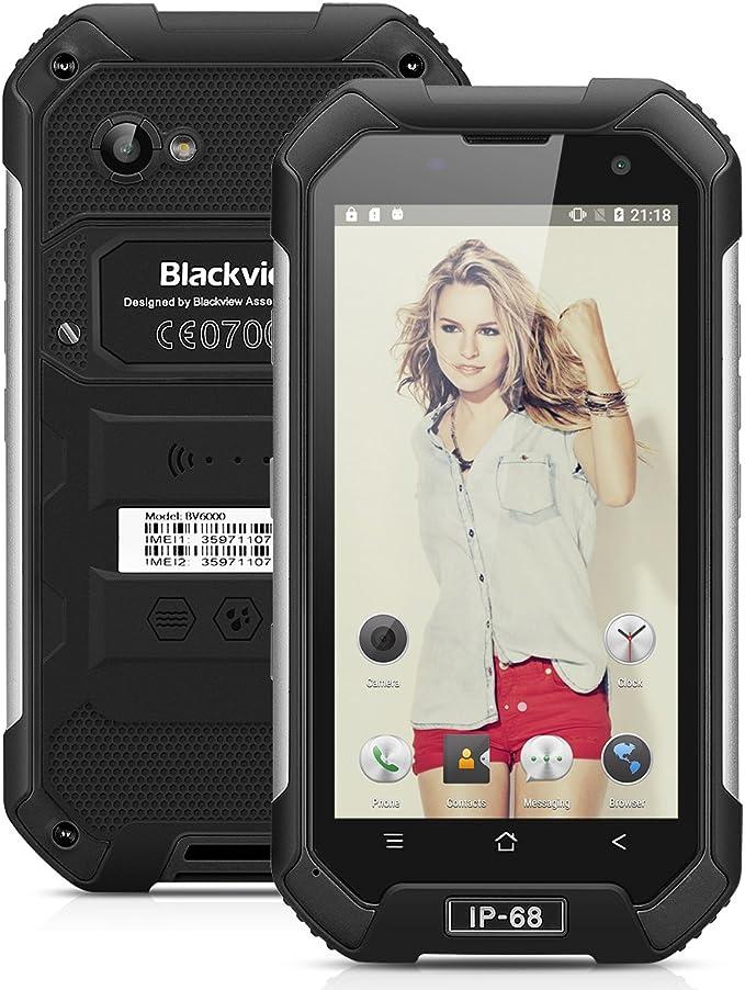Blackview Bv6000 4 G de Smartphone 4.7 Pulgadas HD de Pantalla ...