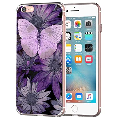 Amazon.com: Bonita funda para iPhone 6 Plus carcasa protectora