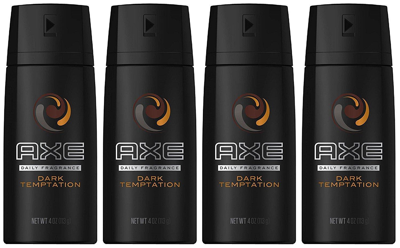 Axe Deodorant Bodyspray Excite 150 Ml 4 Oz Pack Of Score Twin Body Spray Dark Temptation 4ounce