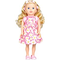 "Bumbleberry For Girls Kids Brinley Girl Doll, Blonde, 15"" 15001"