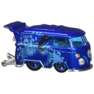 Hot Wheels 2016 The Beatles 50th Anniversary Yellow Submarine Kool Koombi 6/6, Blue: Toys & Games
