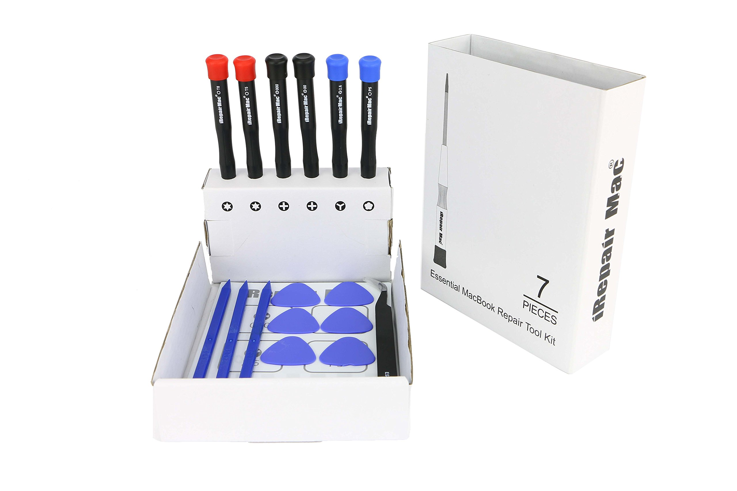 Repair Tool Kits with Magnetic Mat for MacBook Pro, MacBook Retina and MacBook Air Repair and Maintenance (17 Piece)