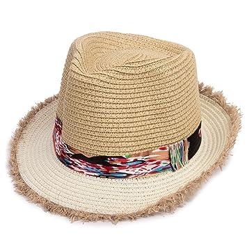 3d8be1104ab42 DNSJB Sombreros de Paja para niños y niñas