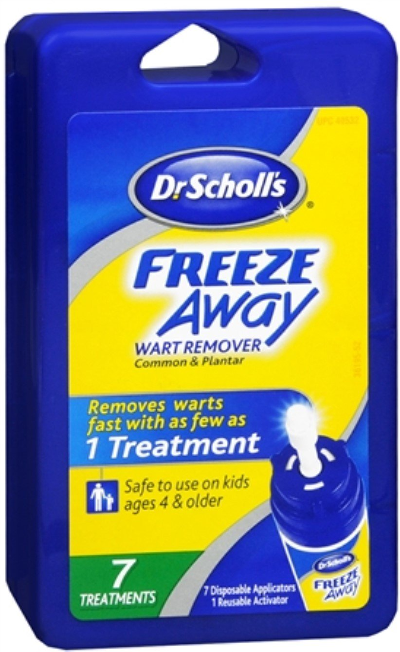 Dr. Scholl's Freeze Away Wart Remover 7 Each (Pack of 6) by Dr. Scholl's