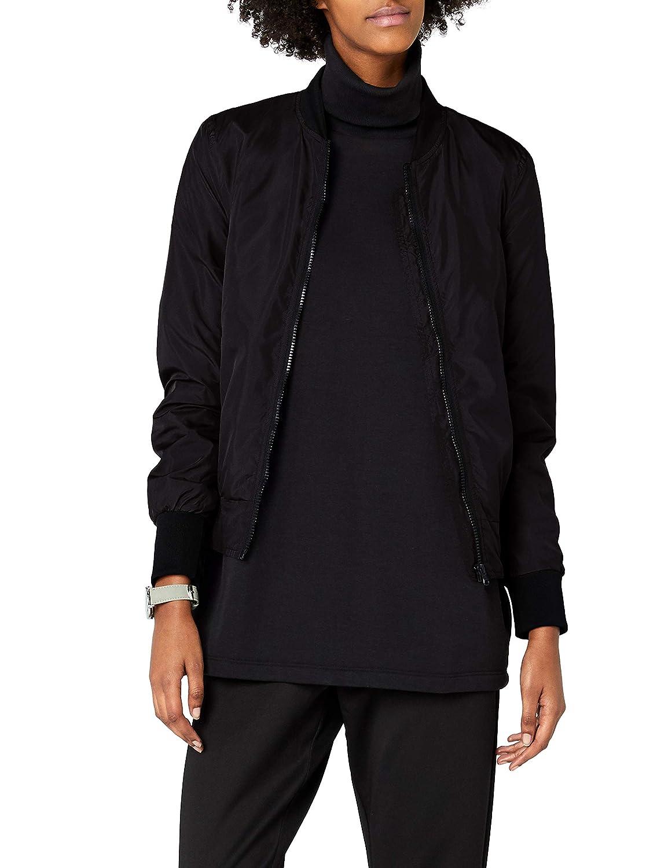 538dec41a8703 Amazon.com  Urban Classics Ladies Light Bomber Jacket  Clothing