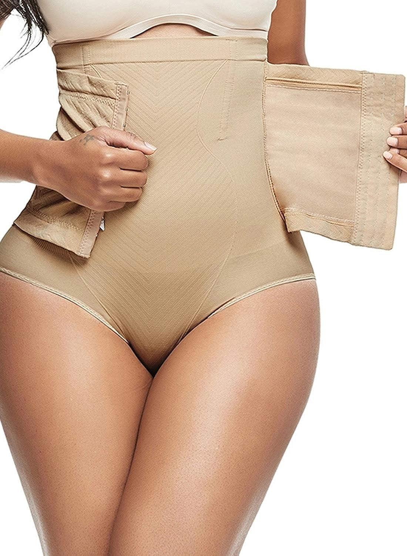 Elegancity Shapewear Damen Bauchweg Hose Miederslips Miederpants Shaping Unterhosen mit Spitze Taillenformer Figurformend Butt Lifter Unterw/äsche Body