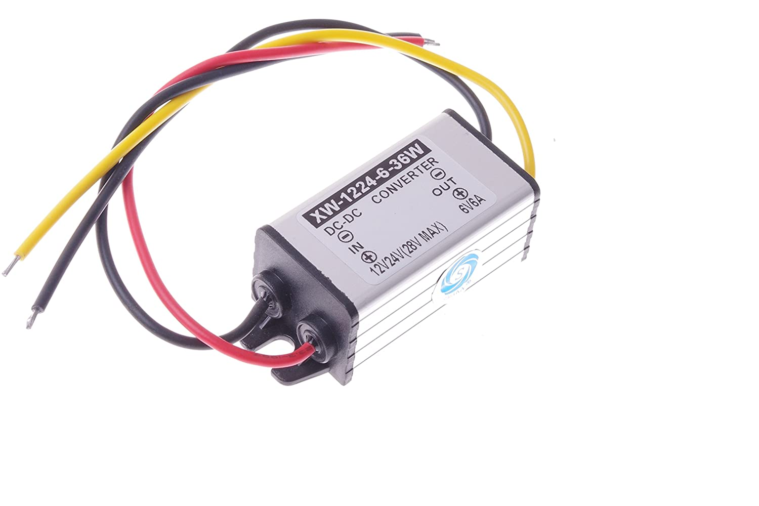 Smakn Dc 12v To 6v 6a 36w Buck Power Converter Sale 12vdc 5vdc Circuit Step Down Supply Waterproof Automotive