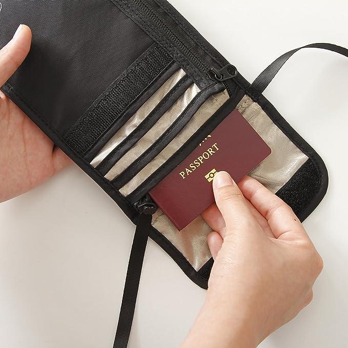 Leather Passport Case - Hidden Treasures by VIDA VIDA PaGKw