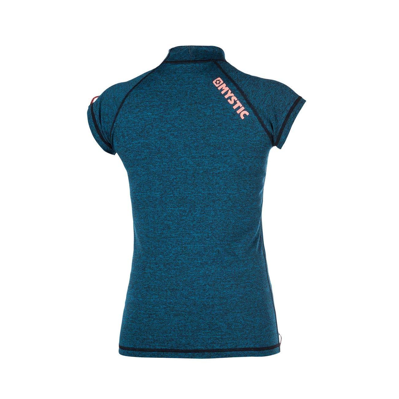 Surf Kitesurf /& Windsurfen Frauen Stern Short Sleeve Schnell Dry Leicht Rash Vest Top Teal Mystic Wassersport