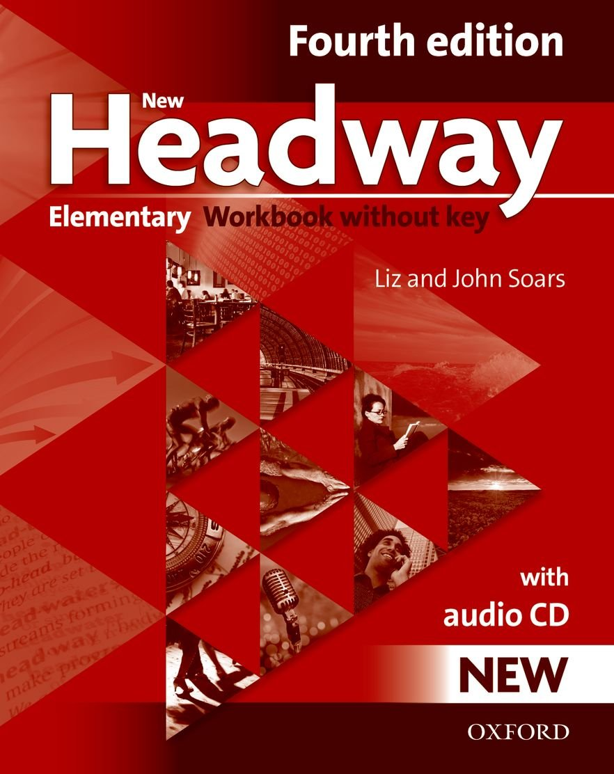 students fourth elementary new book headway cd edition