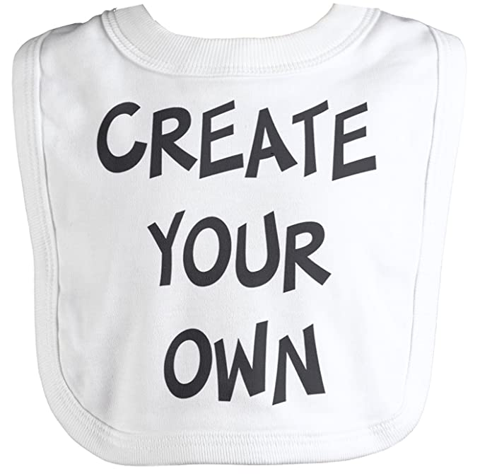 spoilt rotten personalised create your own slogan baby bib one