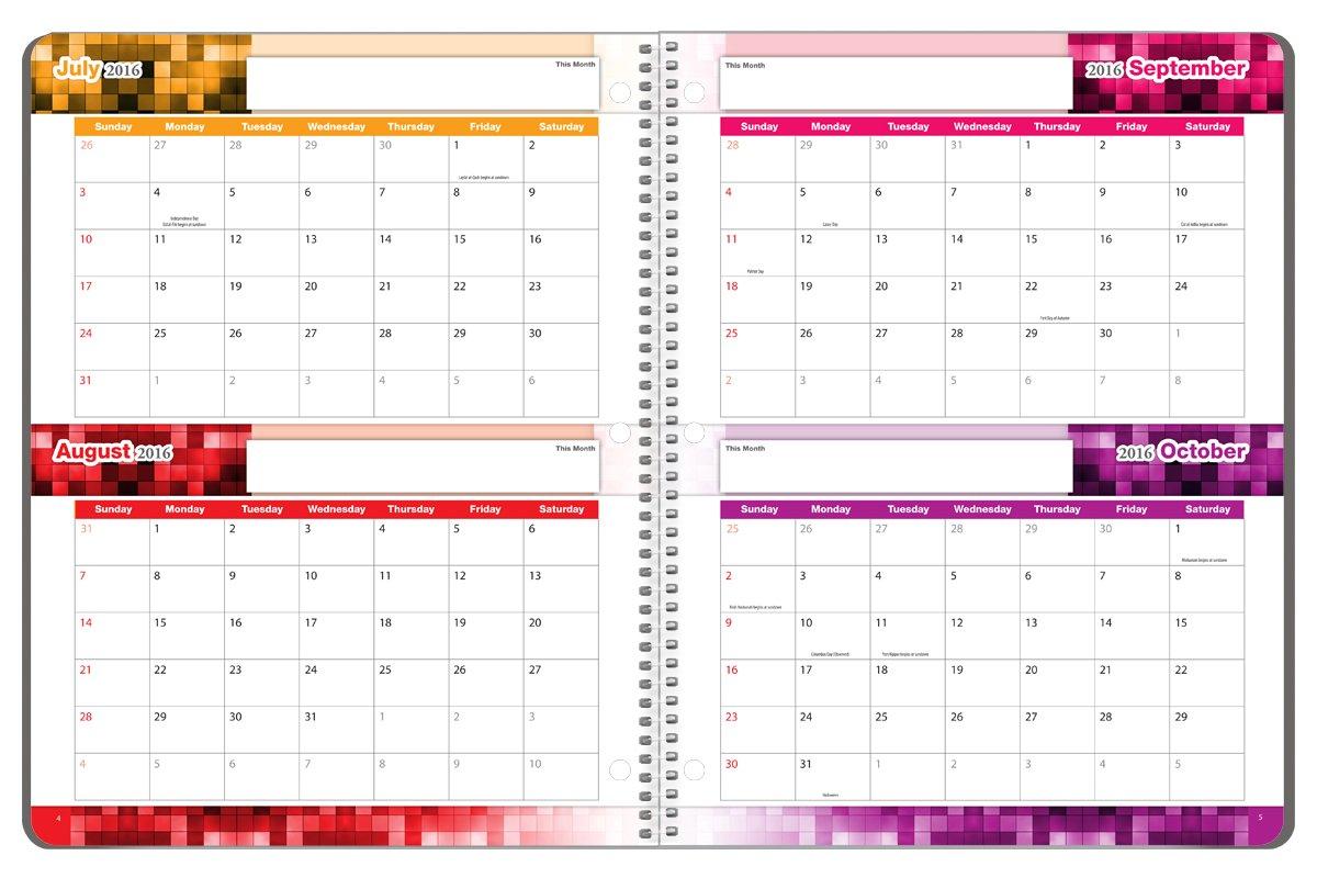 school year day planner