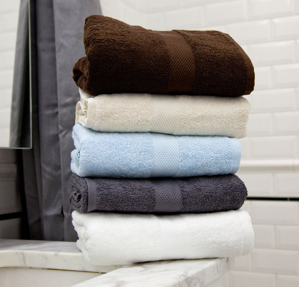 Magnolia Organics タオル Towel Set BTS550G B007PSGFLI ダークグレー Towel Set