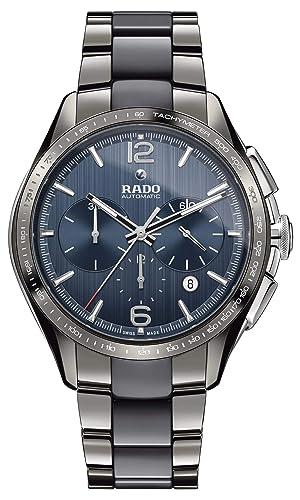 Rado HyperChrome Reloj de Hombre automático 45mm Correa de cerámica R32120202: Amazon.es: Relojes