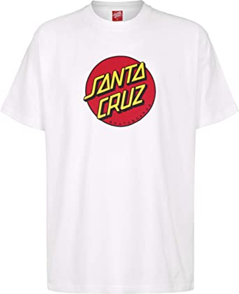 Santa Cruz Camiseta Classic Dot WH