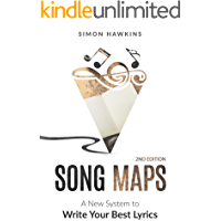 Song Maps: A New System to Write Your Best Lyrics book cover