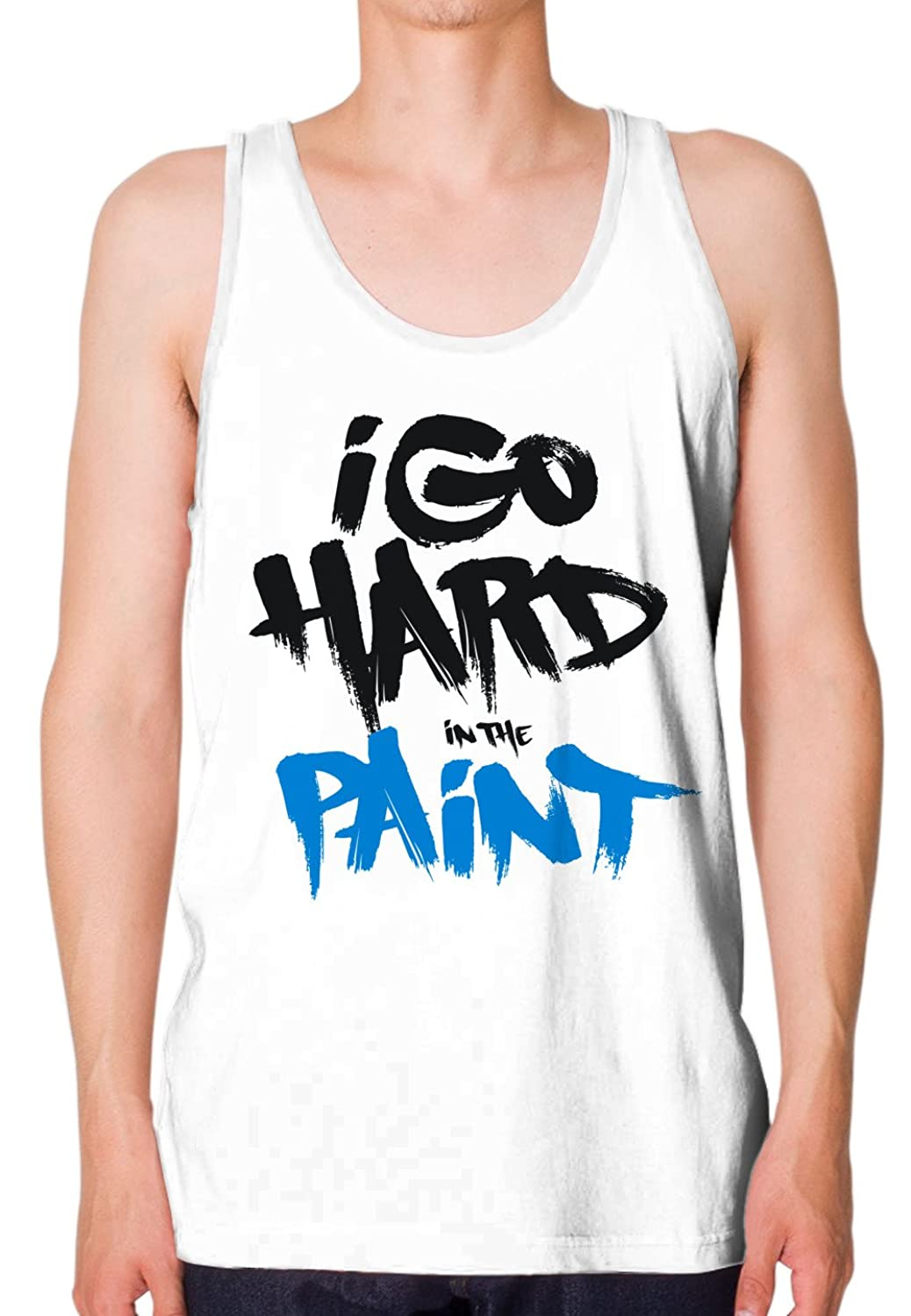 Life In Color Men's I Go Hard In The Paint Tank-top