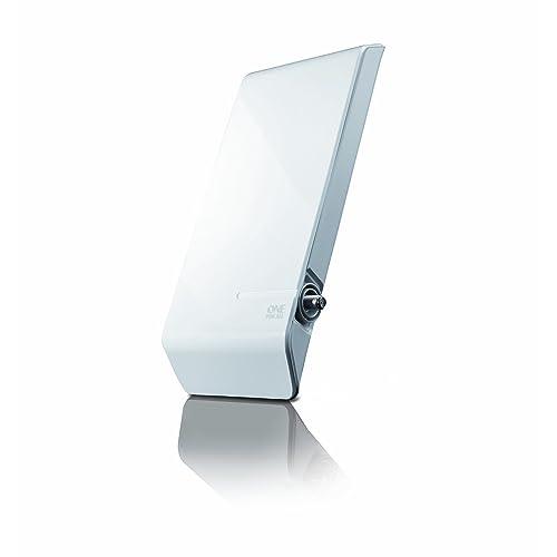One For All SV9450, Antena de TV para Exterior Amplificada, Recibe TDT en un