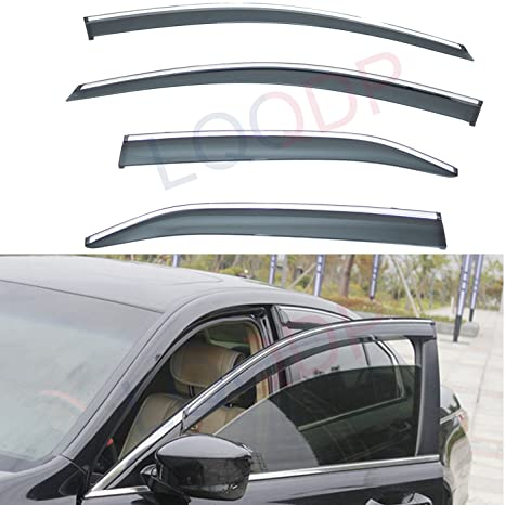 Window Visor Shade Sun Guard For Toyota Camry 4 Door 2007 2008 2009 2010 2011
